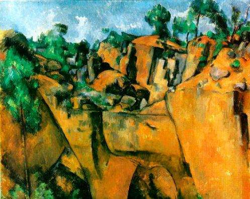 Bibémus Quarry, 1895, oil on canvas