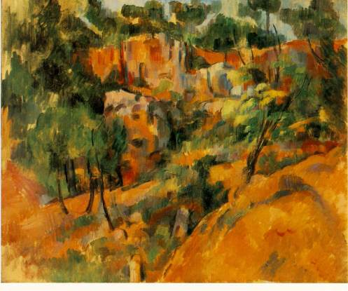 Corner of Quarry, 1900-02, oil on canvas