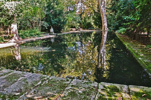 The Pond at the Jas de Bouffan