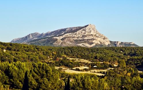 Mont Sainte-Victoire from Les Lauves