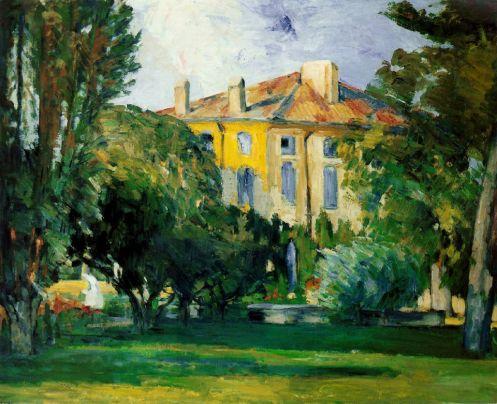 La Maison du Jas de Bouffan, 1876-78, oil on canvas