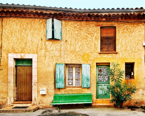Façade of House in Roussillon