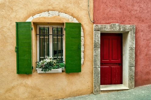 Door and Window in Roussillon