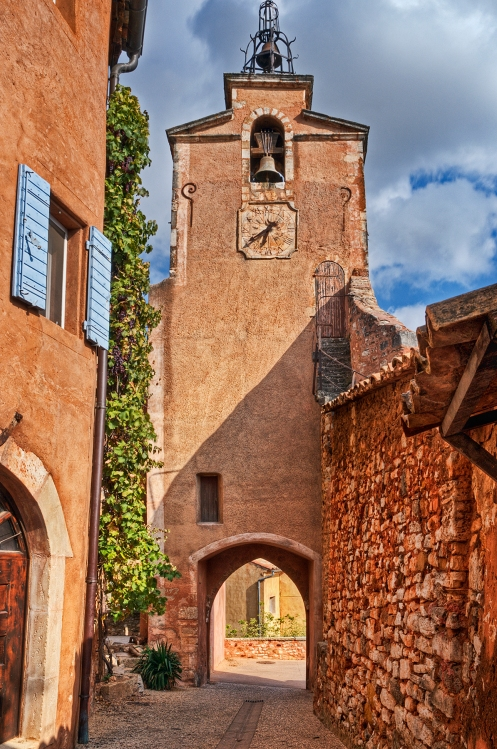 Clock Tower of Roussillon