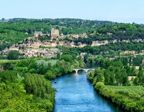 Vue de la Dordogne depuis le Château de Castelnaud