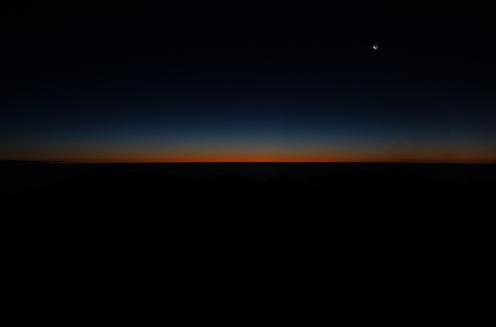 50 minutes before sunrise