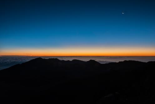20 minutes before sunrise