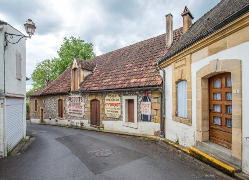 Belle rue à Saint-Cyprien